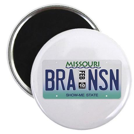Branson License Plate Magnet
