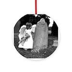 Child Angel 2004 Ornament (Round)