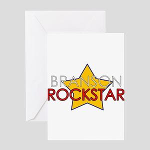 Branson Rockstar Greeting Card