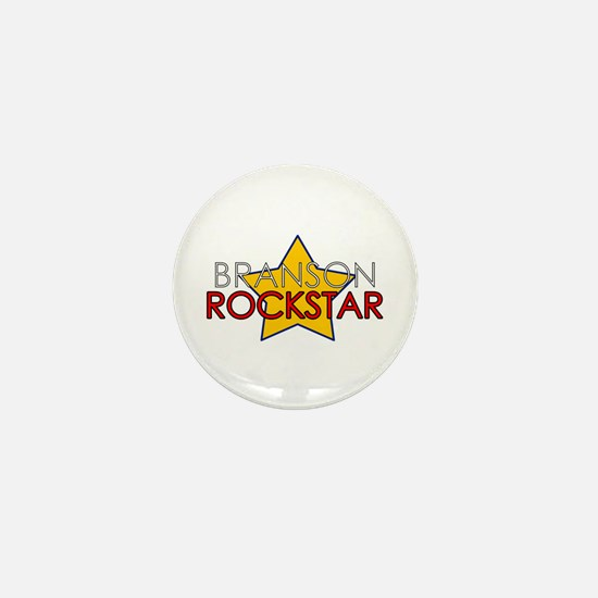 Branson Rockstar Mini Button