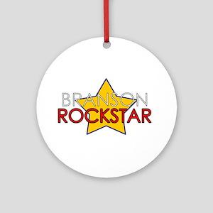 Branson Rockstar Ornament (Round)