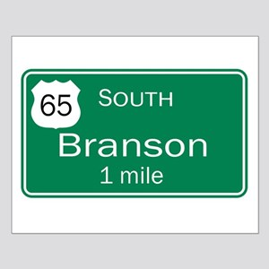 65 South to Branson, Missouri Small Poster