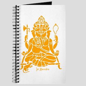 Jai Ganesh (Orange) Journal