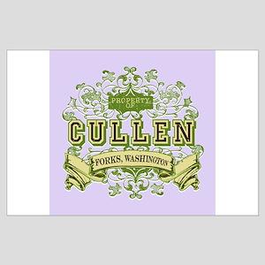 Vintage Property of Cullen Large Poster