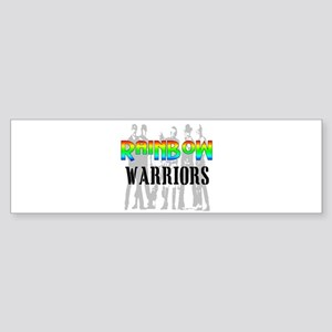 'RAINBOW WARRIORS Bumper Sticker