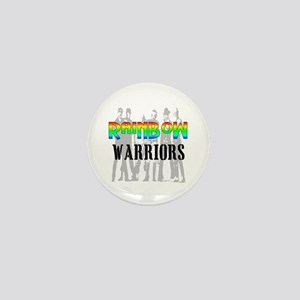 'RAINBOW WARRIORS Mini Button