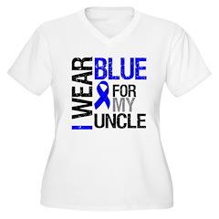 I Wear Blue Uncle T-Shirt