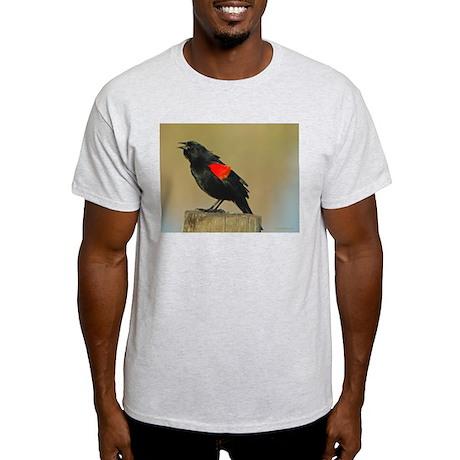 Red-Winged Blackbird Light T-Shirt