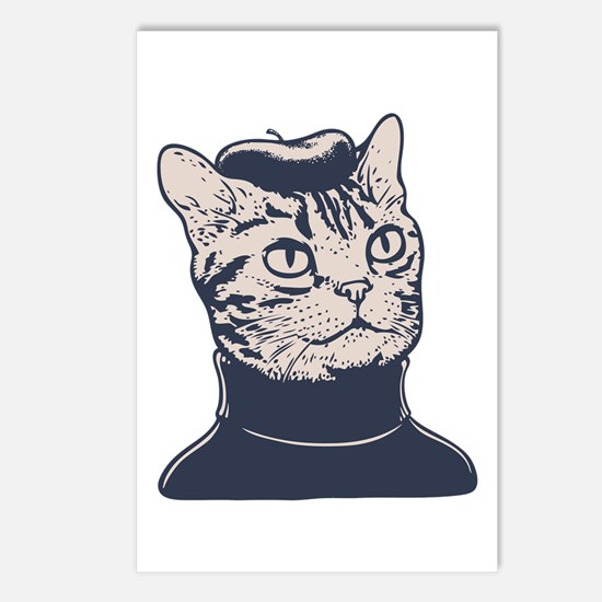 Sophisti-Cat Postcards (Package of 8)