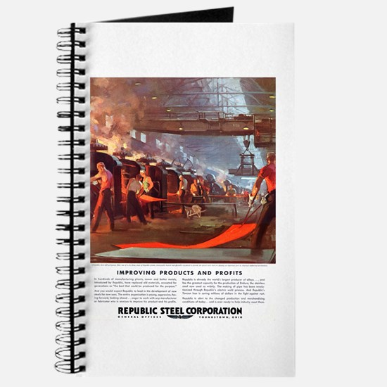 Vintage Republic Steel Workers Journal