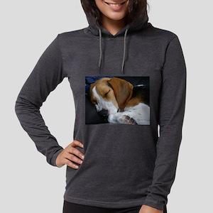 beagle sleeping Long Sleeve T-Shirt