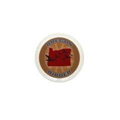 Oregon Birder Mini Button