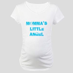 Momma's Little Angel Maternity T-Shirt
