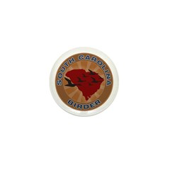 South Carolina Birder Mini Button