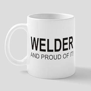 The Proud Welder Mug (right side)