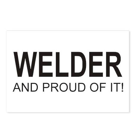 The Proud Welder Postcards (Package of 8)