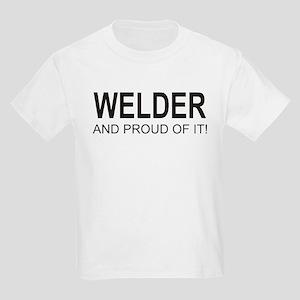 The Proud Welder Kids Light T-Shirt