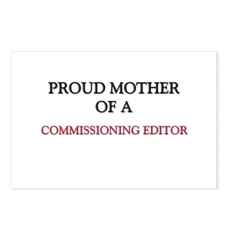 Proud Mother Of A COMMISSIONING EDITOR Postcards (