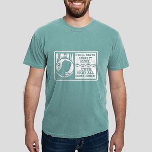 POW-MIA Never Leave It Alone Women's Dark T-Shirt
