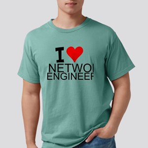 I Love Network Engineering T-Shirt