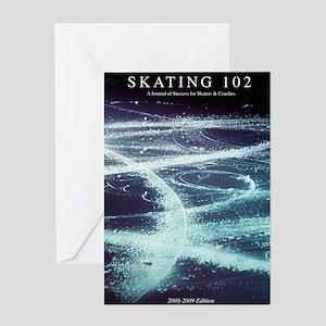 Skating102 book Greeting Card