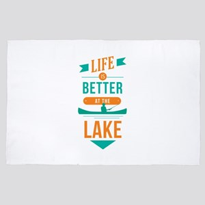 Better at the Lake 4' x 6' Rug