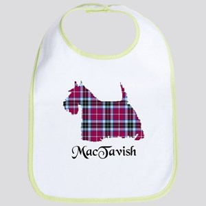 Terrier-MacTavish Cotton Baby Bib