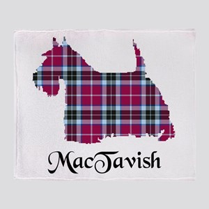 Terrier-MacTavish Throw Blanket