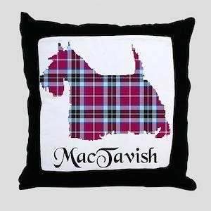 Terrier-MacTavish Throw Pillow
