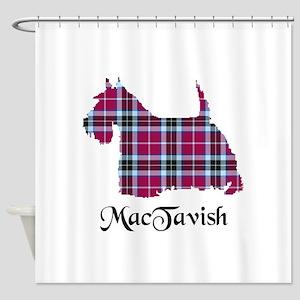 Terrier-MacTavish Shower Curtain