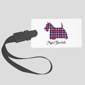 Terrier-MacTavish Large Luggage Tag