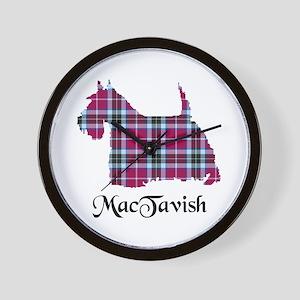 Terrier-MacTavish Wall Clock