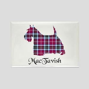 Terrier-MacTavish Rectangle Magnet