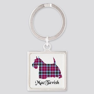 Terrier-MacTavish Square Keychain