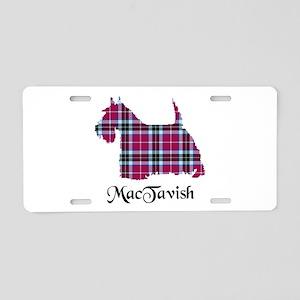 Terrier-MacTavish Aluminum License Plate