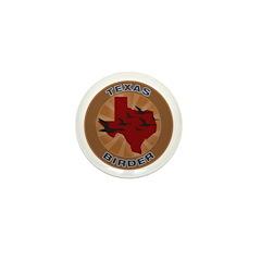 Texas Birder Mini Button