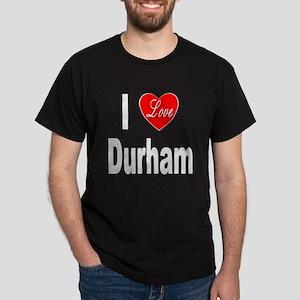 I Love Durham (Front) Dark T-Shirt