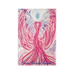 Twin Flame Angel Magnet