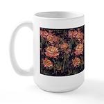 Large Mug - Yellow/ Orange Roses