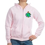 Animal Planet Rescue Women's Zip Hoodie