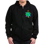 Animal Planet Rescue Zip Hoodie (dark)