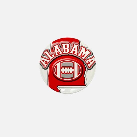 Alabama Football Mini Button