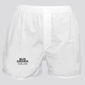 Bus Driver For Life Boxer Shorts
