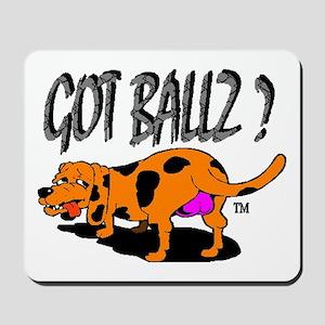 Team Ballzout Race Gear Mousepad