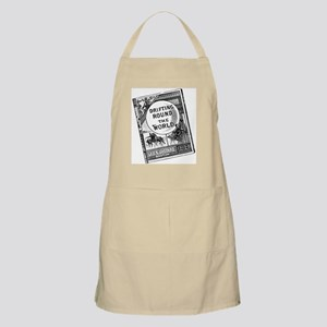 Drifting round the World BBQ Apron