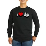 "Long Sleeve ""I Heart DP"" Dark T-Shirt"