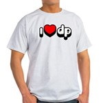 "Light ""I Heart DP"" T-Shirt"