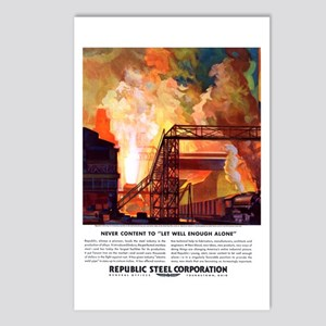 Republic Steel Postcards (Package of 8)