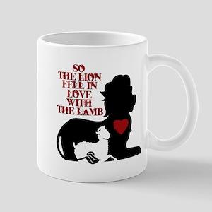 Lion & Lamb Quote Mug