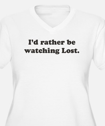 I'd rather be watching Lost T-Shirt